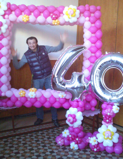 Aniversario-40-globos
