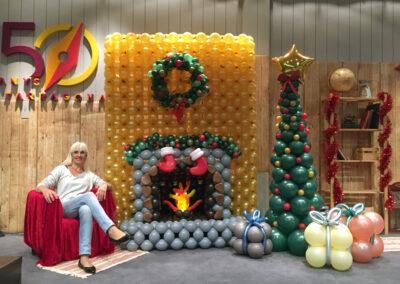 decoracion-con-globos-navidad-nadal